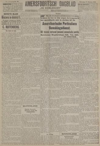 Amersfoortsch Dagblad / De Eemlander 1918-10-12