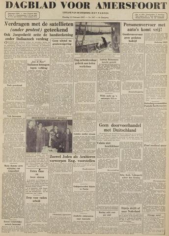 Dagblad voor Amersfoort 1947-02-11