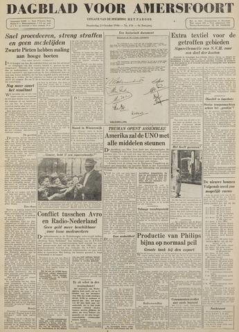 Dagblad voor Amersfoort 1946-10-24