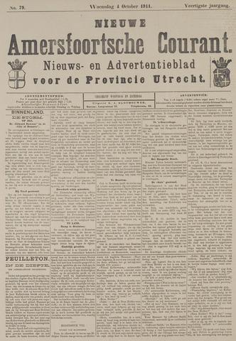 Nieuwe Amersfoortsche Courant 1911-10-04