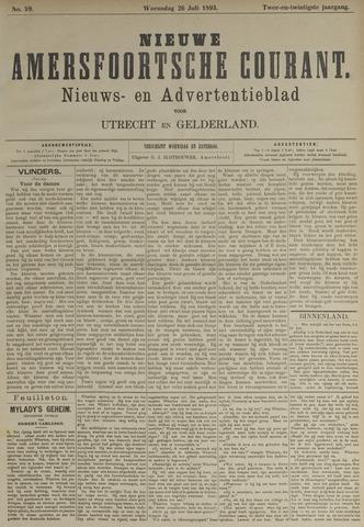Nieuwe Amersfoortsche Courant 1893-07-26