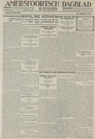 Amersfoortsch Dagblad / De Eemlander 1929-04-23
