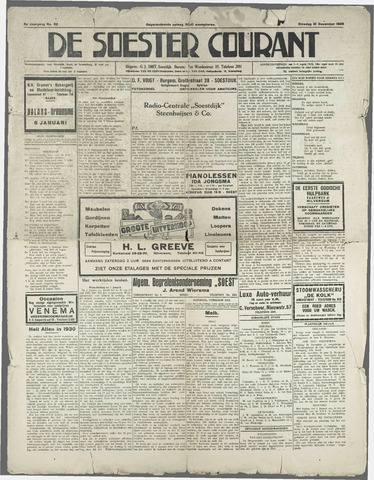 Soester Courant 1929-12-31