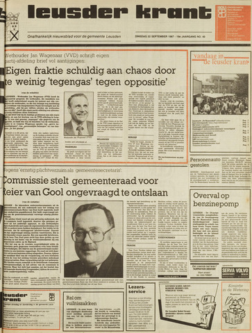 Leusder Krant 1987-09-22