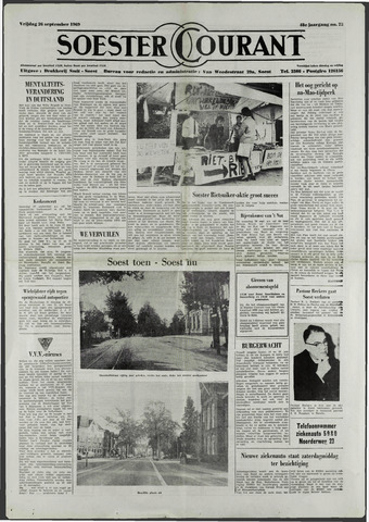 Soester Courant 1969-09-26