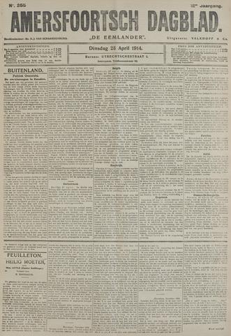 Amersfoortsch Dagblad / De Eemlander 1914-04-28