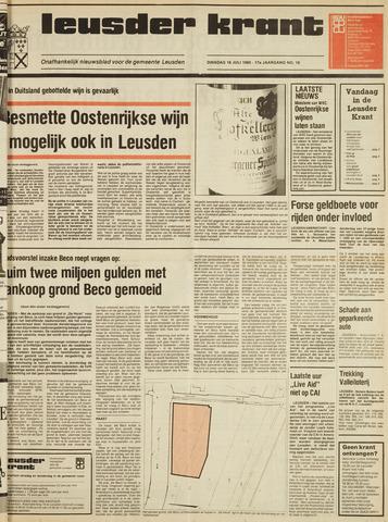 Leusder Krant 1985-07-16