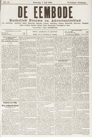 De Eembode 1906-07-07