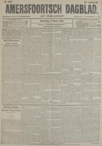 Amersfoortsch Dagblad / De Eemlander 1914-03-02