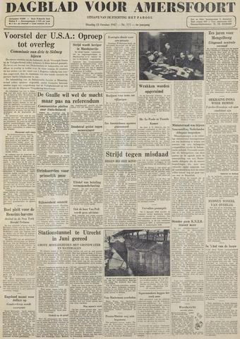 Dagblad voor Amersfoort 1947-10-21