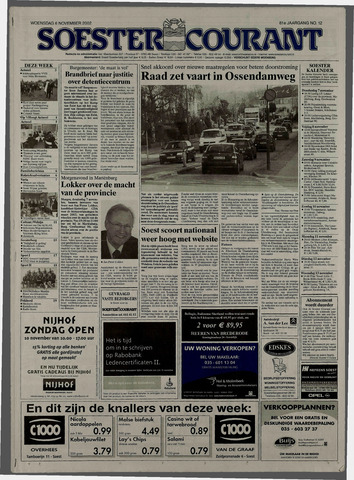 Soester Courant 2002-11-06