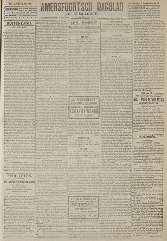 Amersfoortsch Dagblad / De Eemlander 1922-12-07