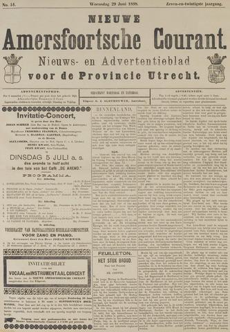 Nieuwe Amersfoortsche Courant 1898-06-29
