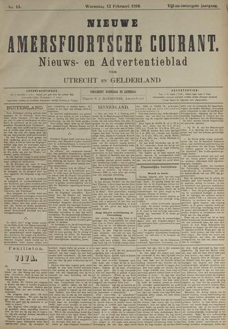 Nieuwe Amersfoortsche Courant 1896-02-12