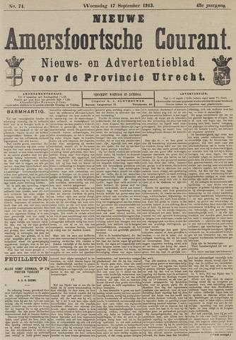 Nieuwe Amersfoortsche Courant 1913-09-17