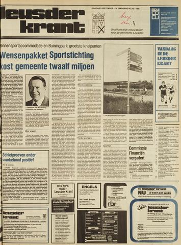 Leusder Krant 1980-09-09