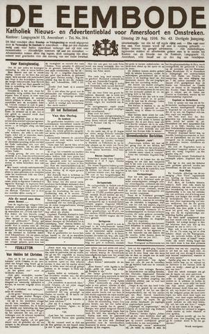 De Eembode 1916-08-29