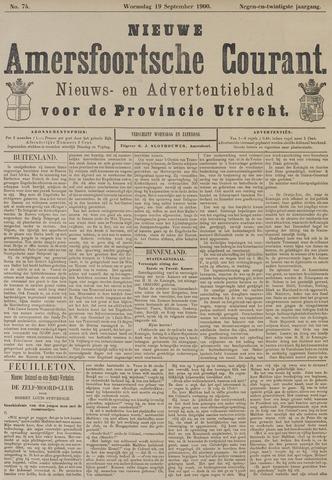 Nieuwe Amersfoortsche Courant 1900-09-19