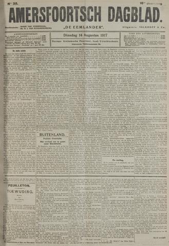 Amersfoortsch Dagblad / De Eemlander 1917-08-14