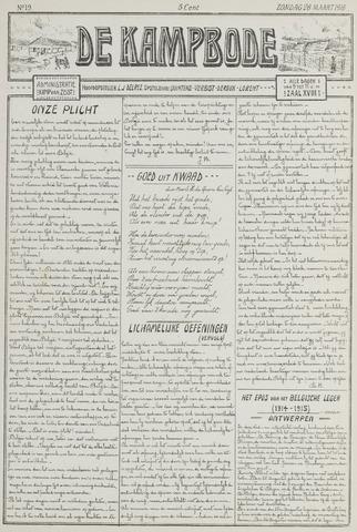 De Kampbode 1916-03-26