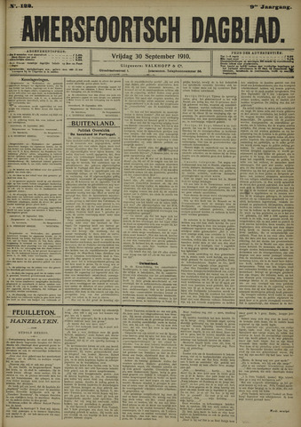 Amersfoortsch Dagblad 1910-09-30