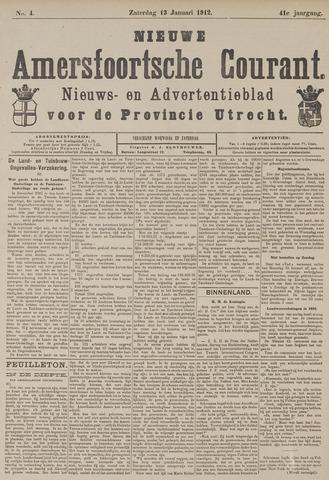 Nieuwe Amersfoortsche Courant 1912-01-13