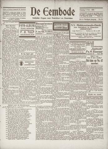 De Eembode 1932-11-08