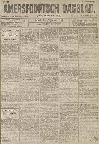 Amersfoortsch Dagblad / De Eemlander 1913-01-16