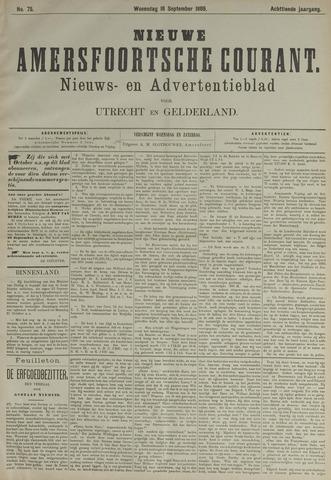 Nieuwe Amersfoortsche Courant 1889-09-18