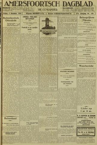 Amersfoortsch Dagblad / De Eemlander 1932-12-09