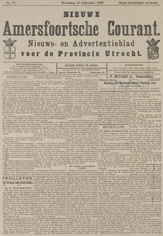 Nieuwe Amersfoortsche Courant 1910-09-14