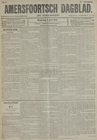 Amersfoortsch Dagblad / De Eemlander 1915-07-05