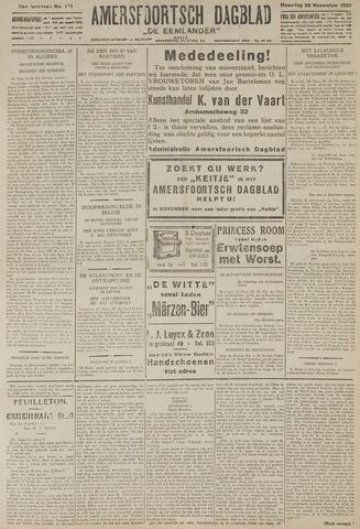 Amersfoortsch Dagblad / De Eemlander 1927-11-28