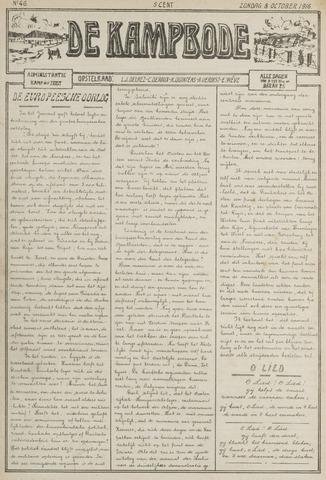 De Kampbode 1916-10-08