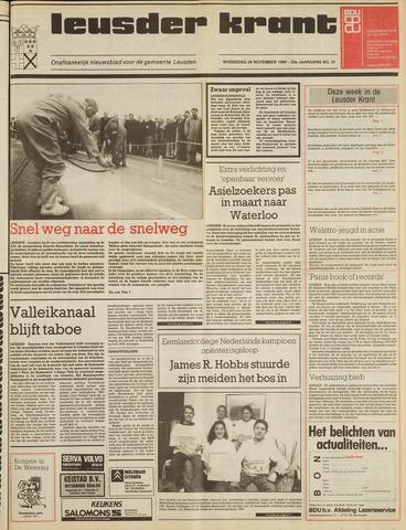 Leusder Krant 1990-11-28