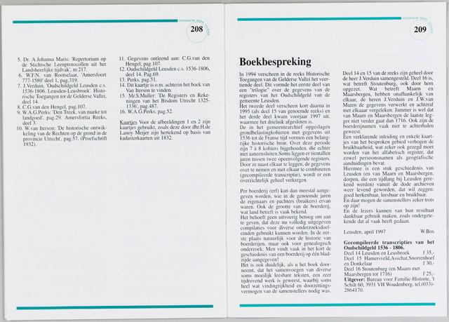 Historische Kring Leusden 1997