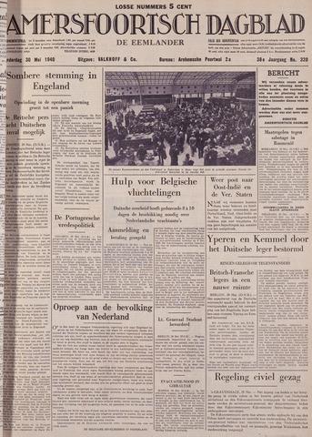 Amersfoortsch Dagblad / De Eemlander 1940-05-30