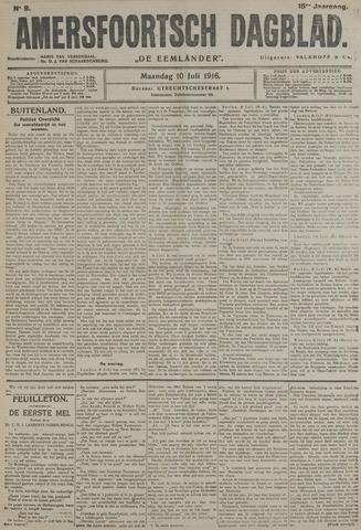Amersfoortsch Dagblad / De Eemlander 1916-07-10