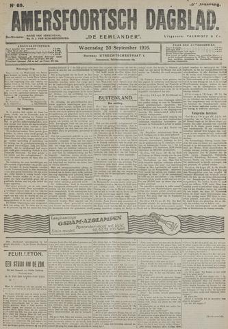 Amersfoortsch Dagblad / De Eemlander 1916-09-20