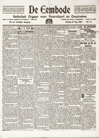 De Eembode 1930-08-19