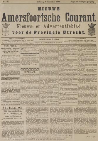 Nieuwe Amersfoortsche Courant 1900-12-01