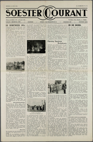 Soester Courant 1954-07-13