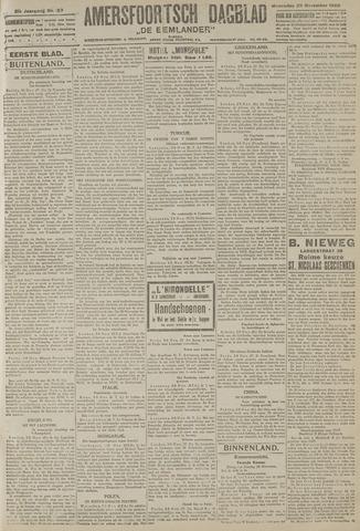 Amersfoortsch Dagblad / De Eemlander 1922-11-29