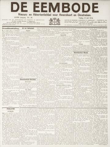 De Eembode 1914-07-10