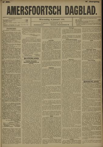 Amersfoortsch Dagblad 1911-01-04