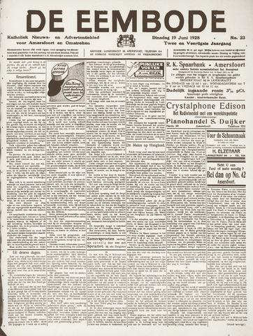 De Eembode 1928-06-19