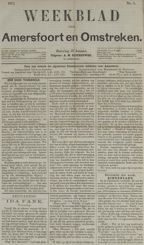 Weekblad voor Amersfoort en Omstreken 1872-01-27