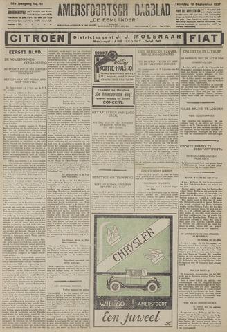 Amersfoortsch Dagblad / De Eemlander 1927-09-10
