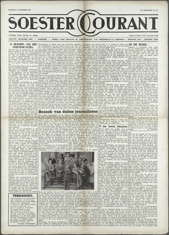 Soester Courant 1957-10-22