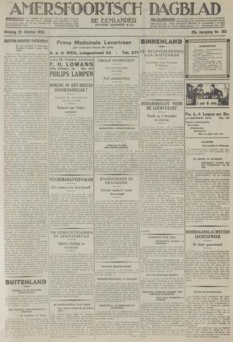 Amersfoortsch Dagblad / De Eemlander 1929-10-29